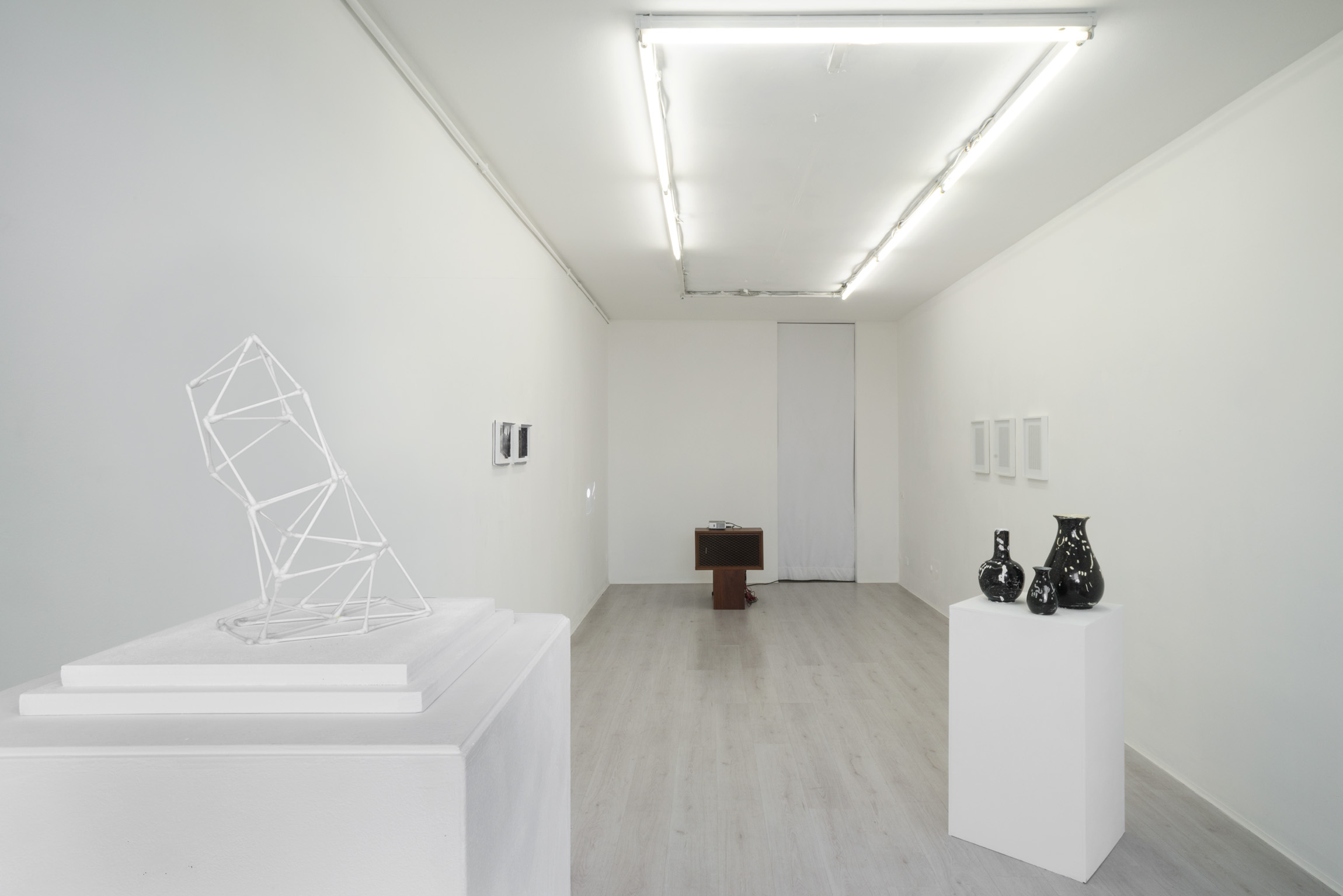 1. Gianluca Codeghini -Solo Noise- exhibition view at A+B gallery Brescia