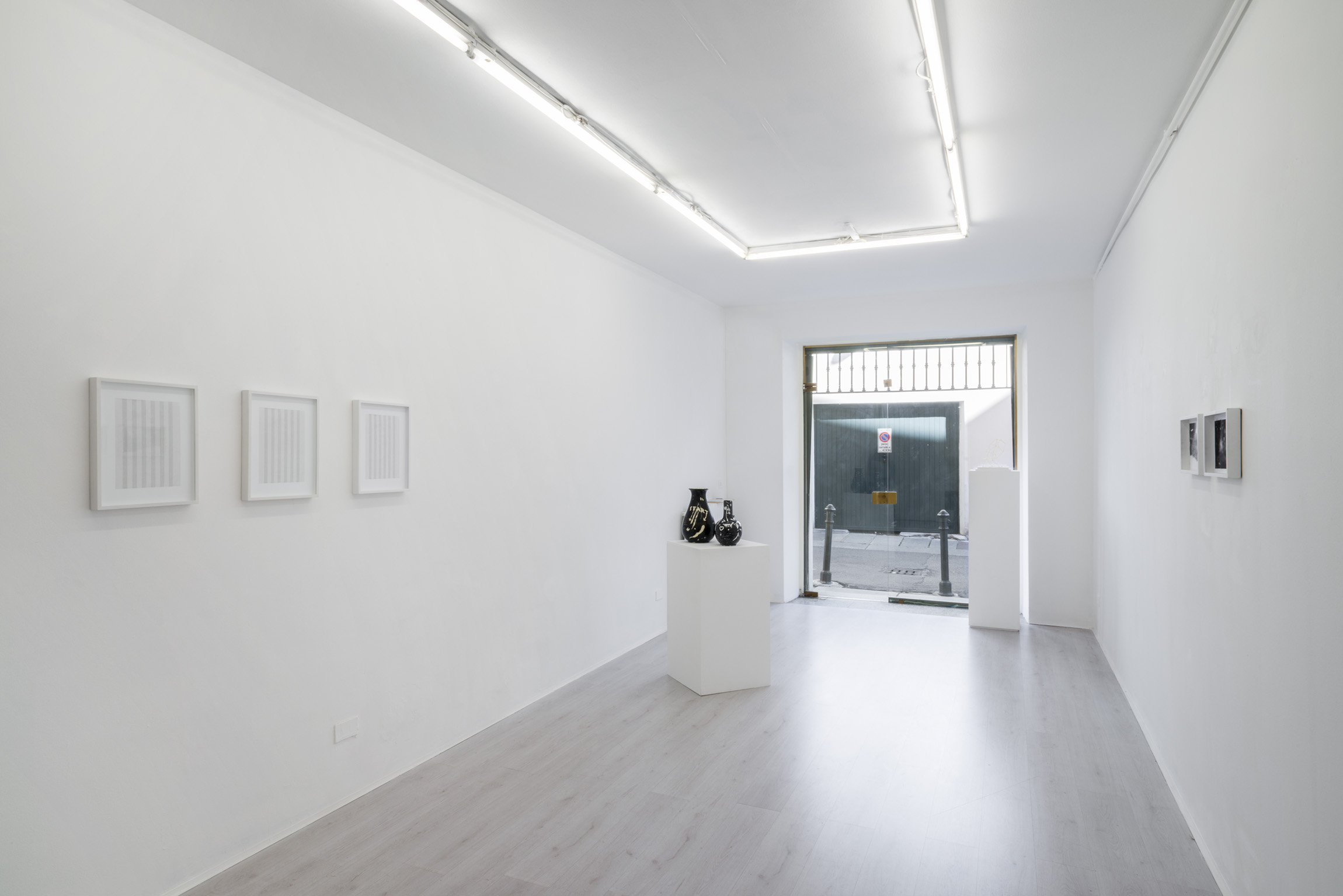 3. Gianluca Codeghini -Solo Noise- exhibition view at A+B gallery Brescia