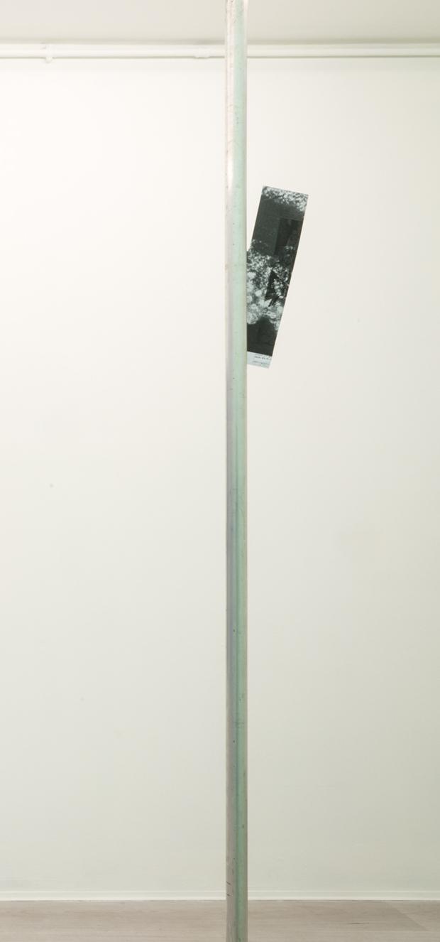 5. Manor Grunewald untitled alluminium & photocopy