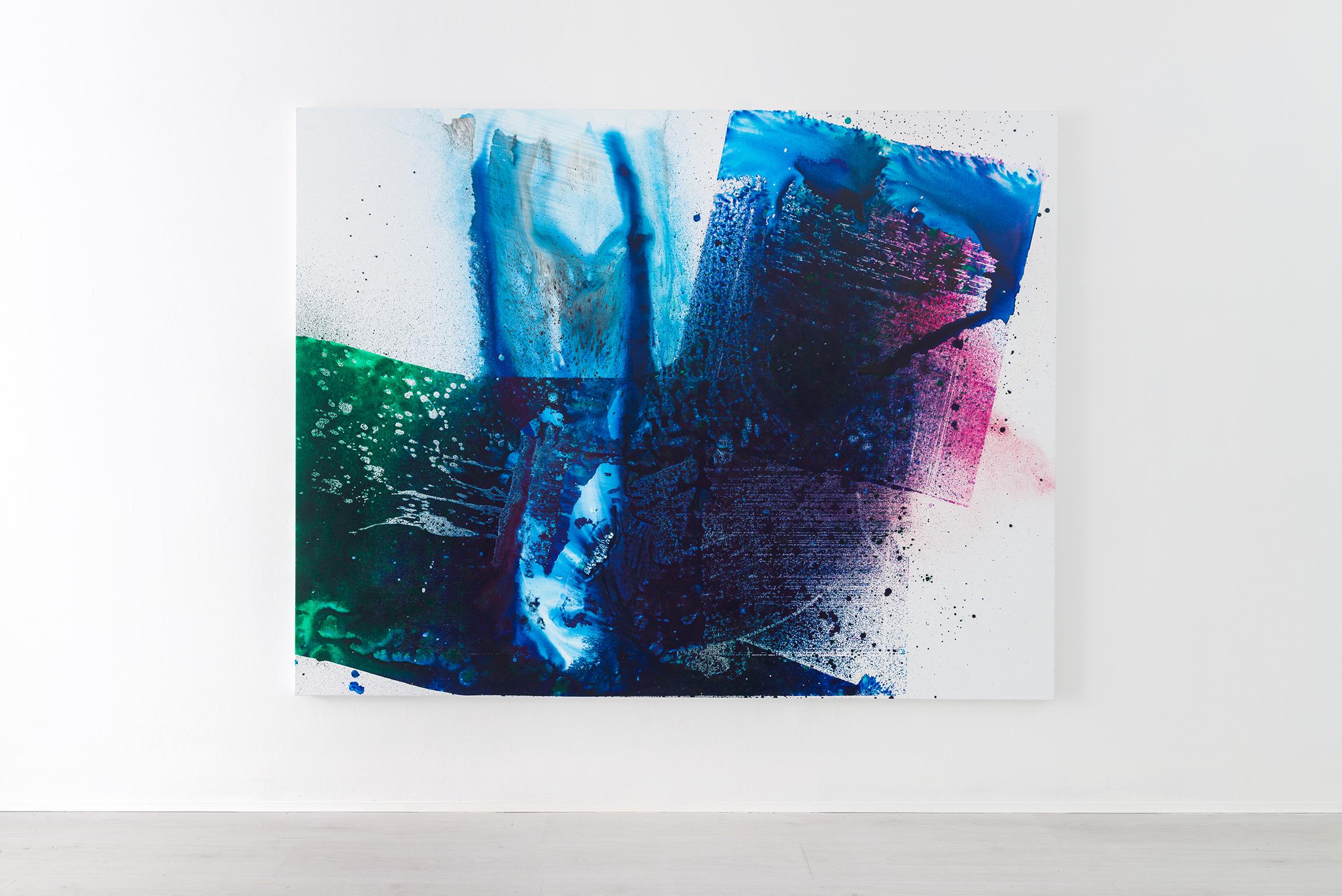 9. Max Frintrop - mi par d'udir ancora - mixed media - 190x220cm - 2017