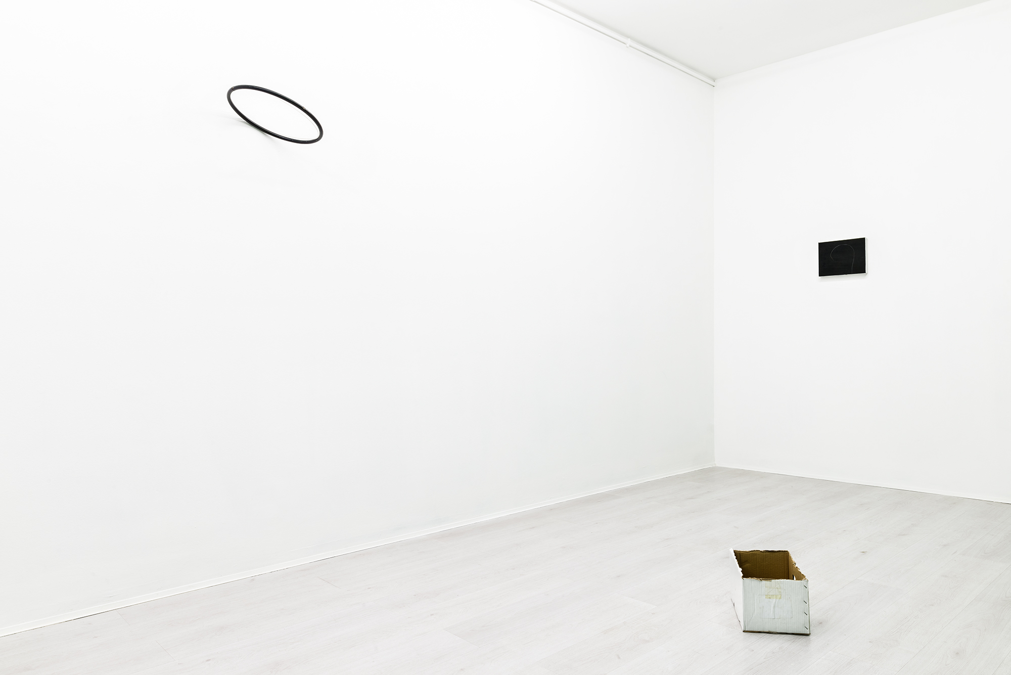 Luca Scarabelli, exhibition view at A+B gallery, 2017