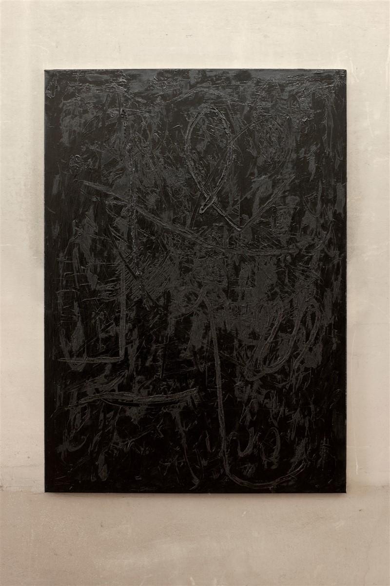 018. Jana Schroeder Spontacts CH S2 - 2014 - oil on canvas - 140x100 - courtesy AplusB Brescia