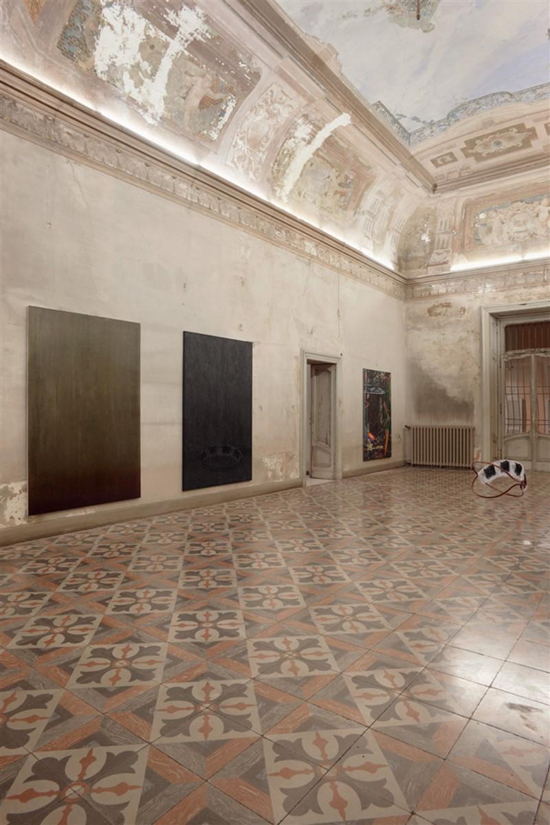 02. L'avventura - die mit der liebe spielen - exhibiton view - room 2 Melike Kara Philip Seibel David Czupryn - photo philip seibel -