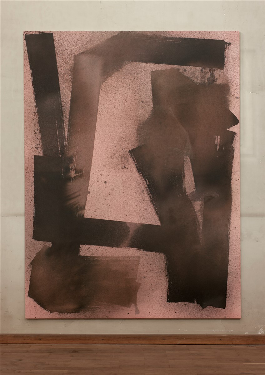 029. Max Frintrop Untitled_Ewok 2014 Mexed Media 200x150cm - courtesy AplusB Brescia