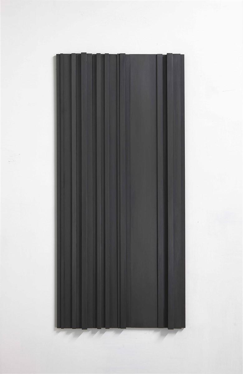 stephanie stein - untitled - legno di balsa, grafite - 2015