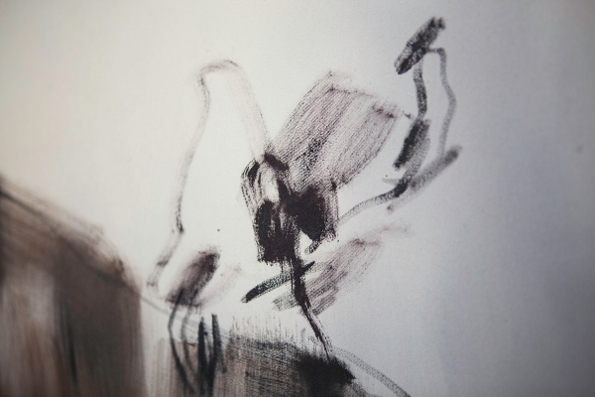 12. Nazzarena Poli Maramotti, part. olio su tela, 190x140cm