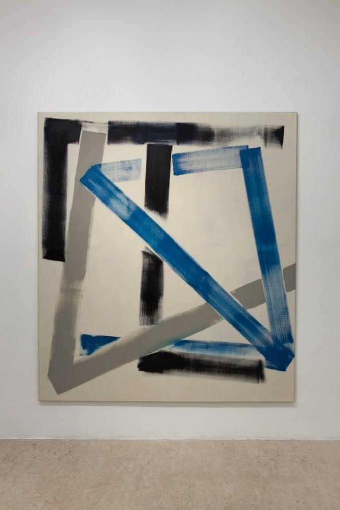Max Frintrop, Untitled, 180x170cm, oil on canvas, 2013, A+B gallery, Brescia it