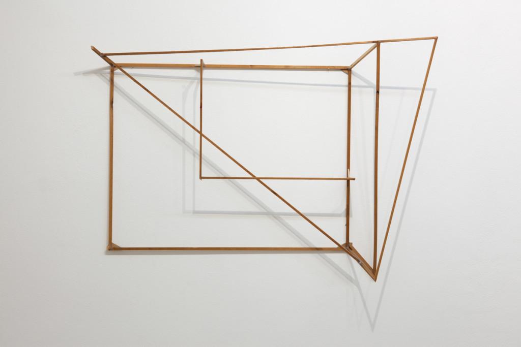 Max Frintrop, Untitled, 50x70x20cm, wood, shellac, glue,, 2013, A+B gallery, Brescia it