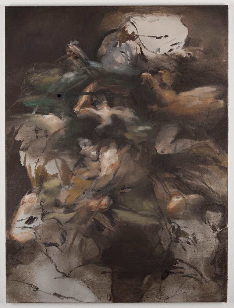 10. NPM, fiori, 2014, olio su tela 80x60cm