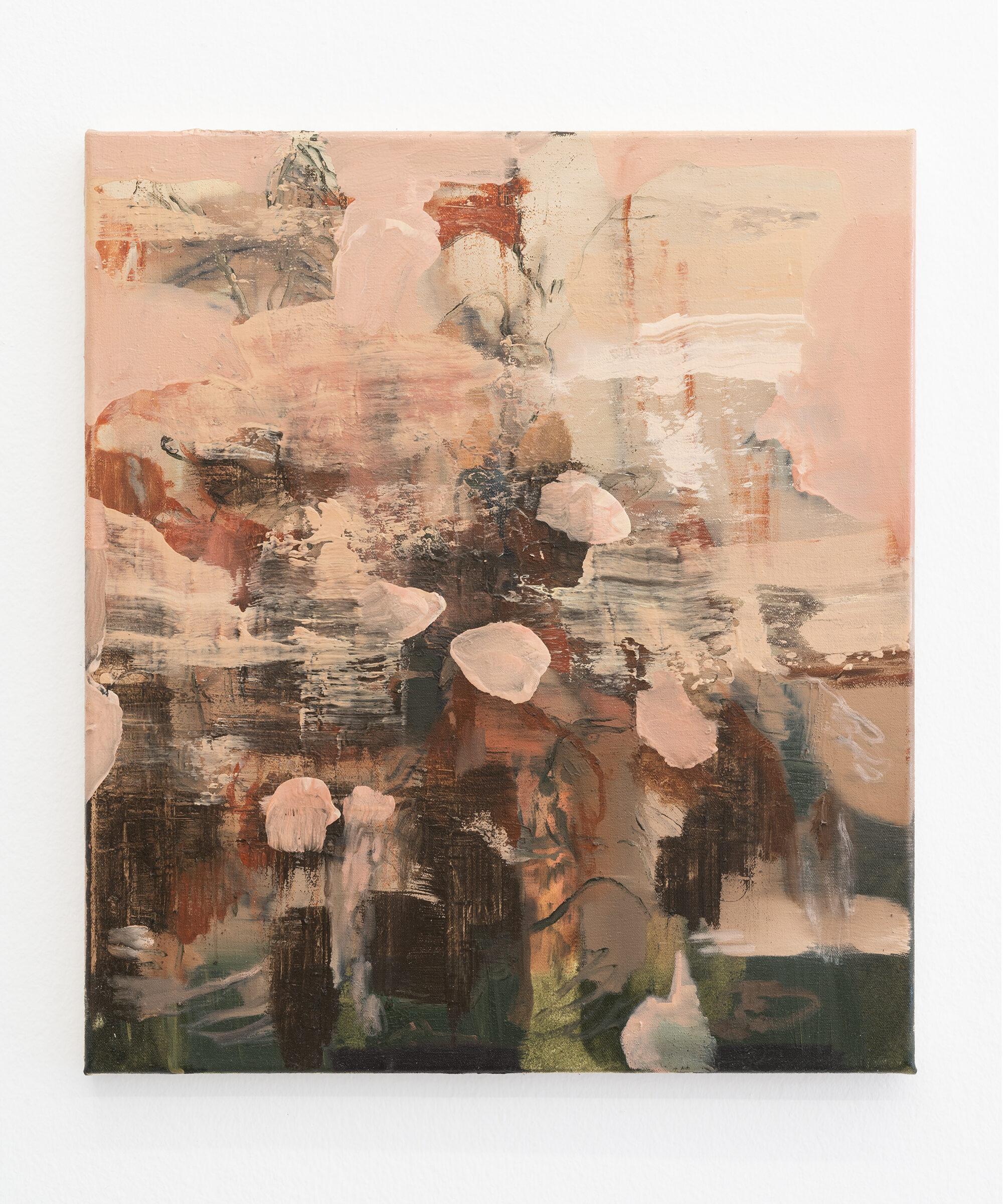 11. Nazzarena Poli Maramotti, Blumenstrauss, mixed media on canvas, 45x40cm, 2018