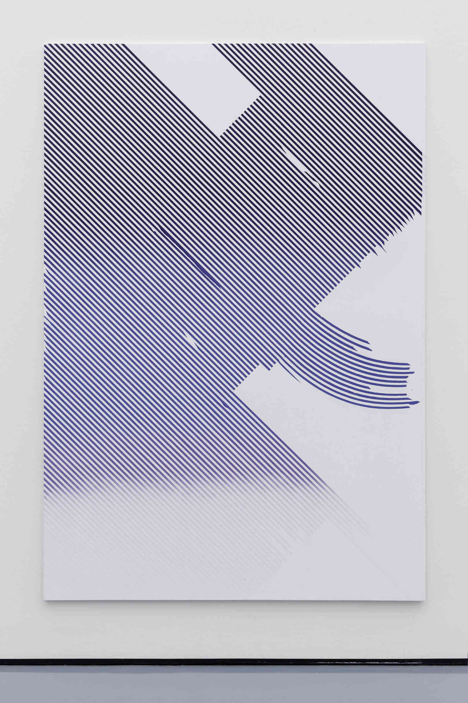 15_Tiziano Martini, 2012, acrylic on cotton, cm 260x180, courtesy The Artist_Dolomiti Contemporanee_view at Museum Kunstpalast_photo Marcell Stahn