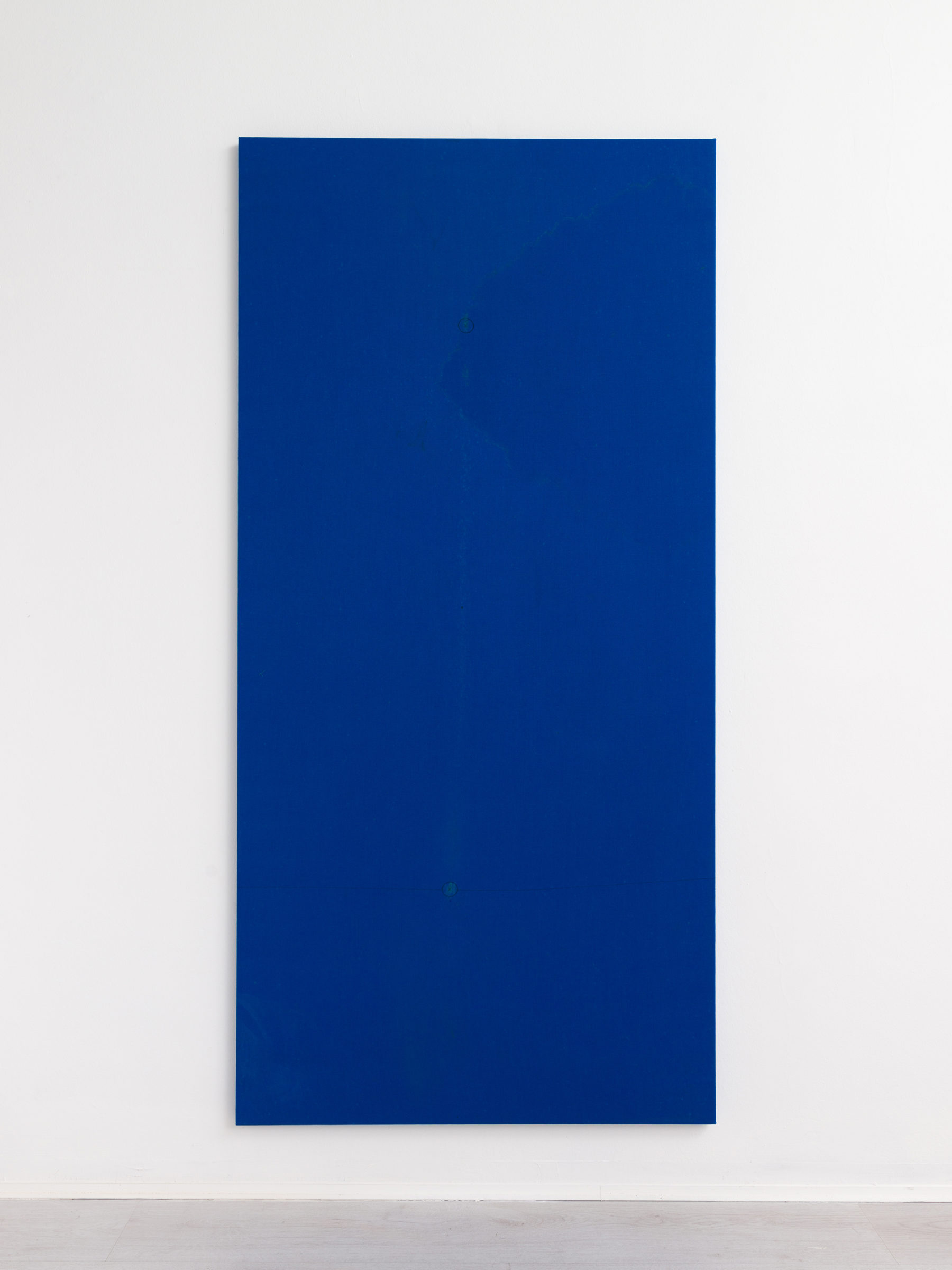 2.Simon Laureyns, used pooltable felt, 190x90cm - 2016