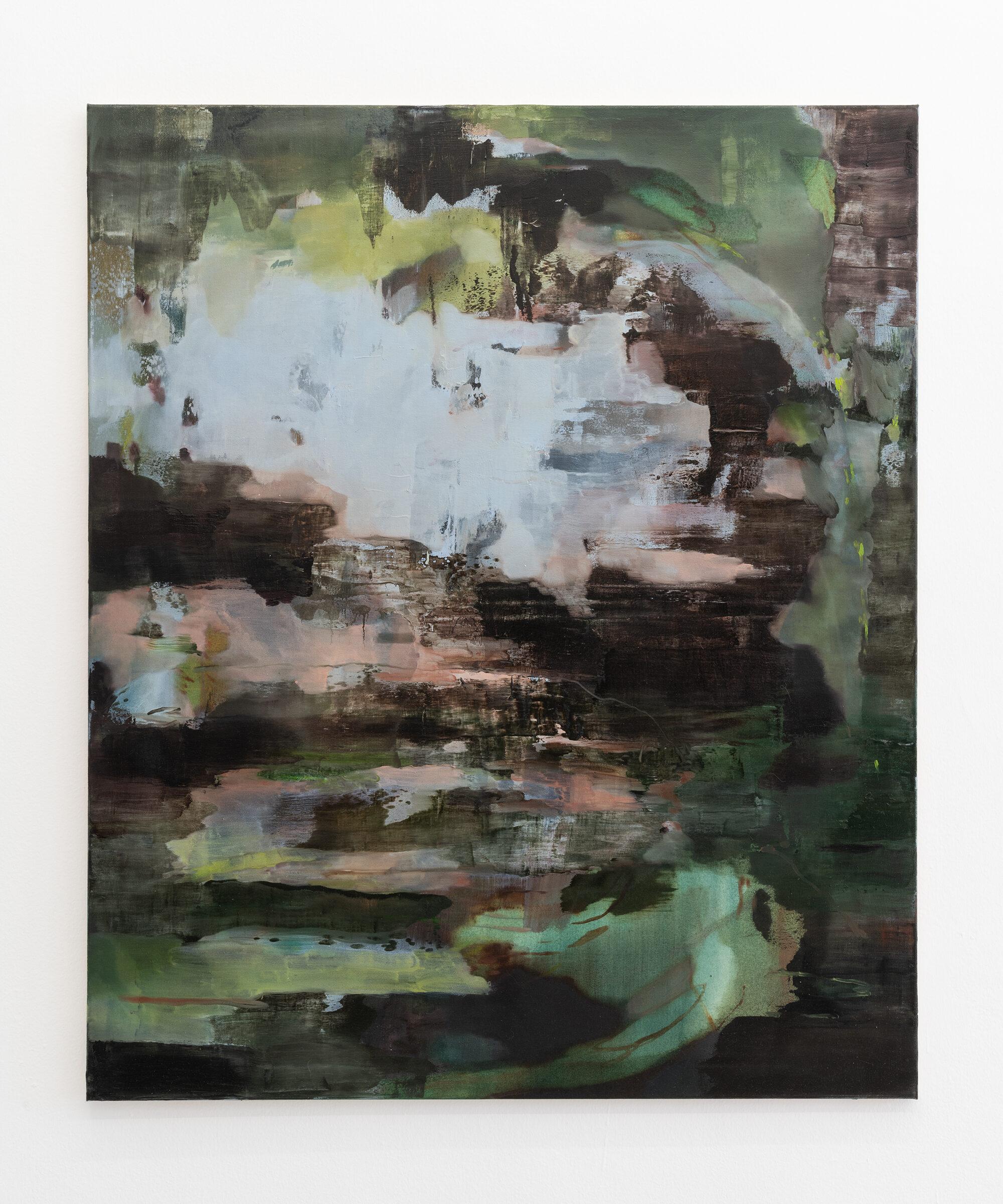 21. Nazzarena Poli Maramotti, mixed media on canvas,100x120 cm, 2017.