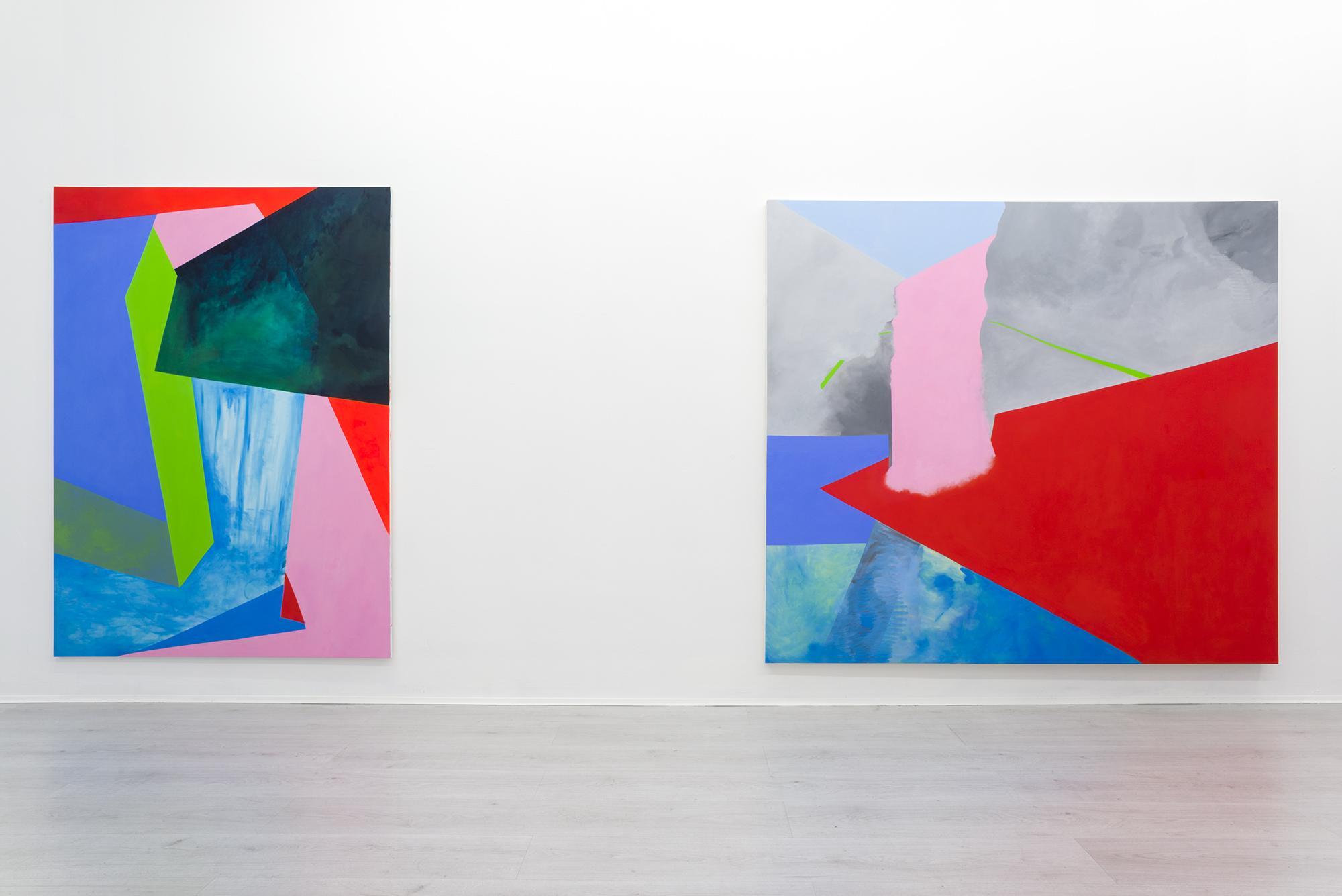 4. Nicola Melinelli Rovesci sparsi at A+B gallery, Brescia ph petro_gilberti
