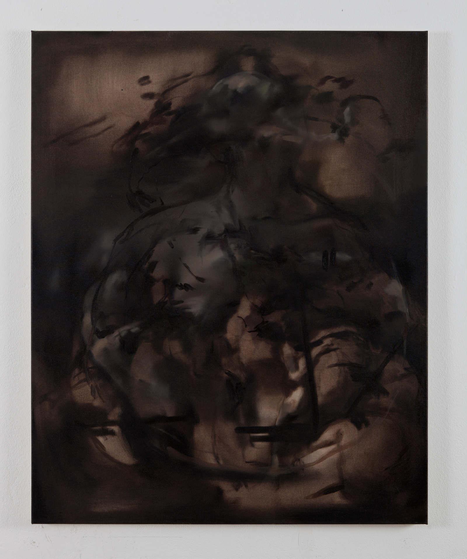 5. Nazzarena Poli Maramotti, Muta, 2014, olio su tela 100x80cm