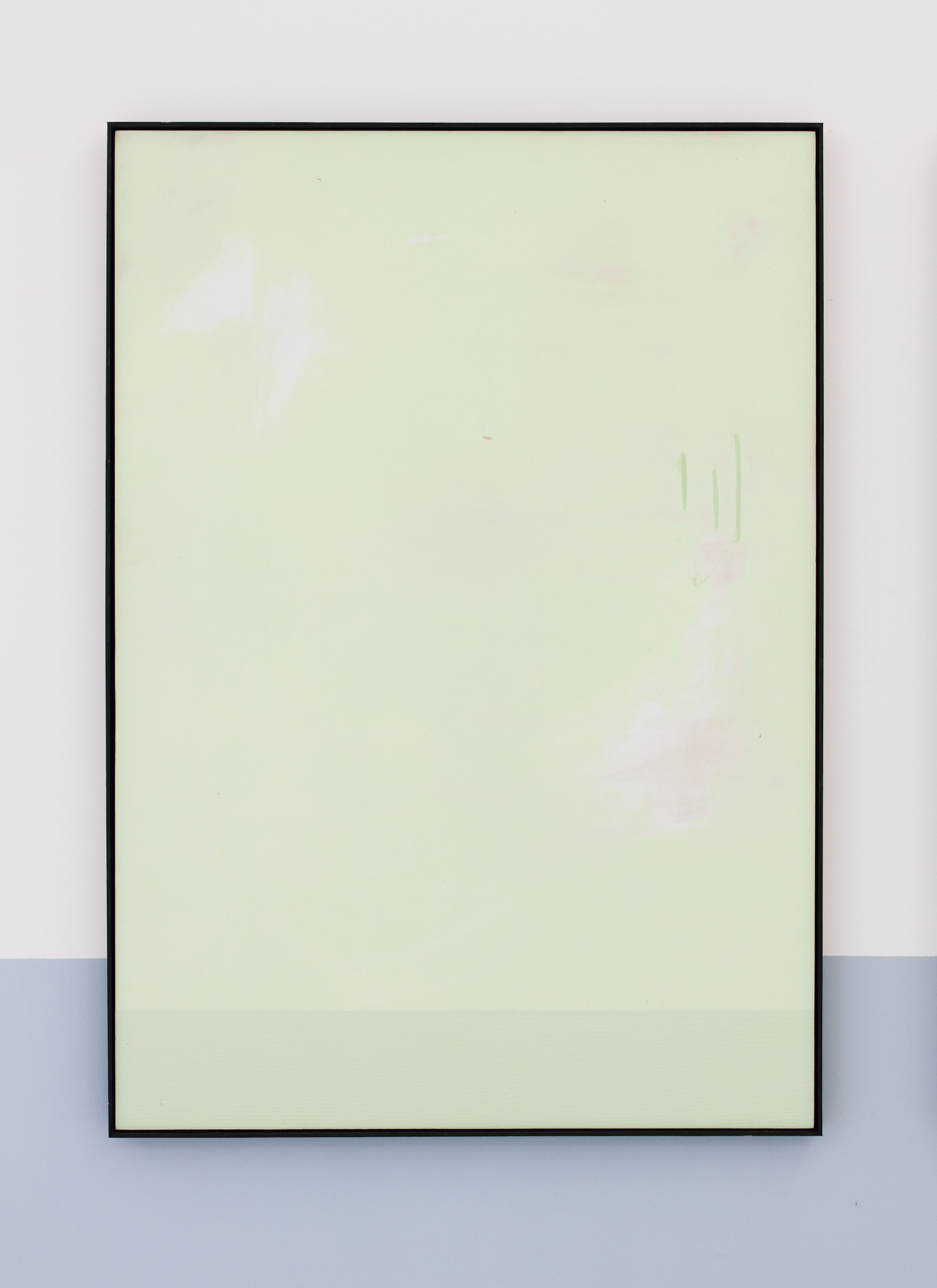 5_Tiziano Martini, 2014, Untitled, water-based paint, acrylic paint and warnish on plywood panel, artist frame, cm 101x71