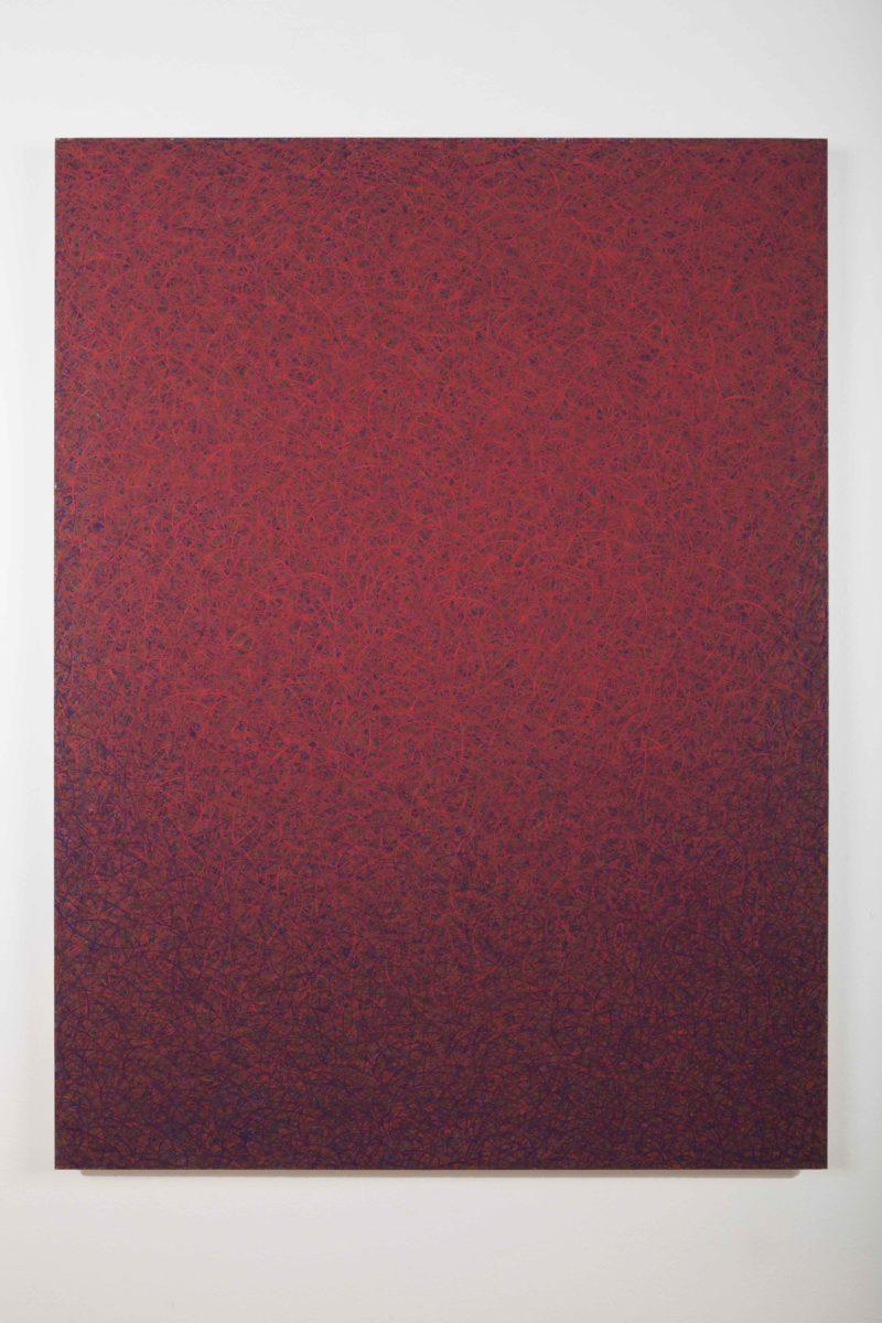 Luca Macauda, untitled, 136x105cm, pastello morbido su tela, 2014