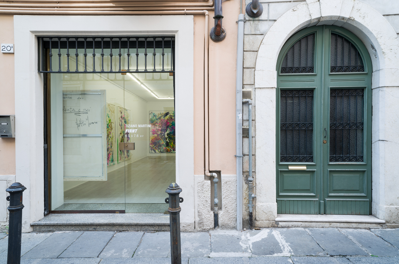 0. Firnt, Tiziano Martini exhibition view at A+B gallery