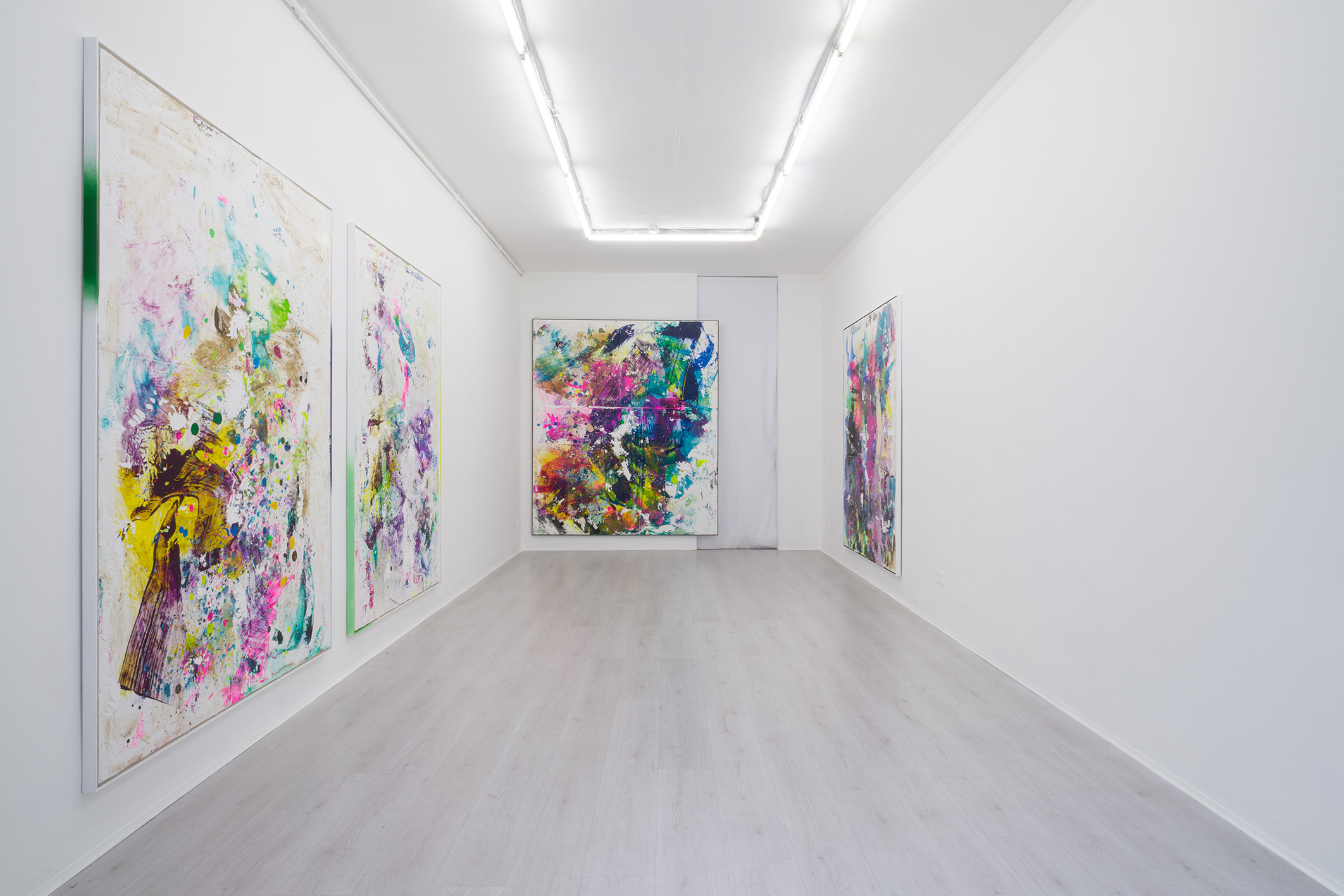 1. Firnt, Tiziano Martini exhibition view at A+B gallery