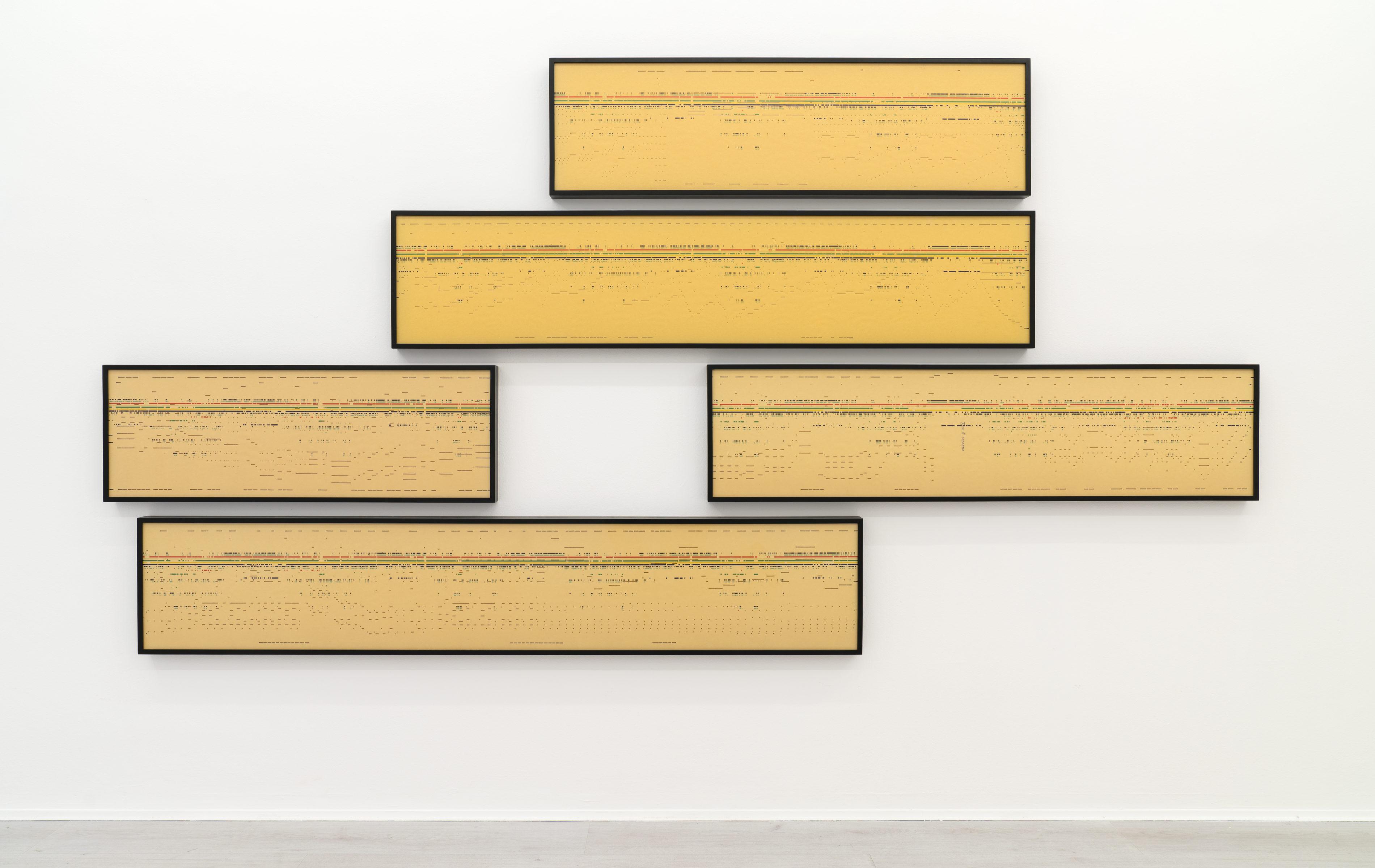 1. Silvia Hell, Air, vista dell'installazione, 2018.