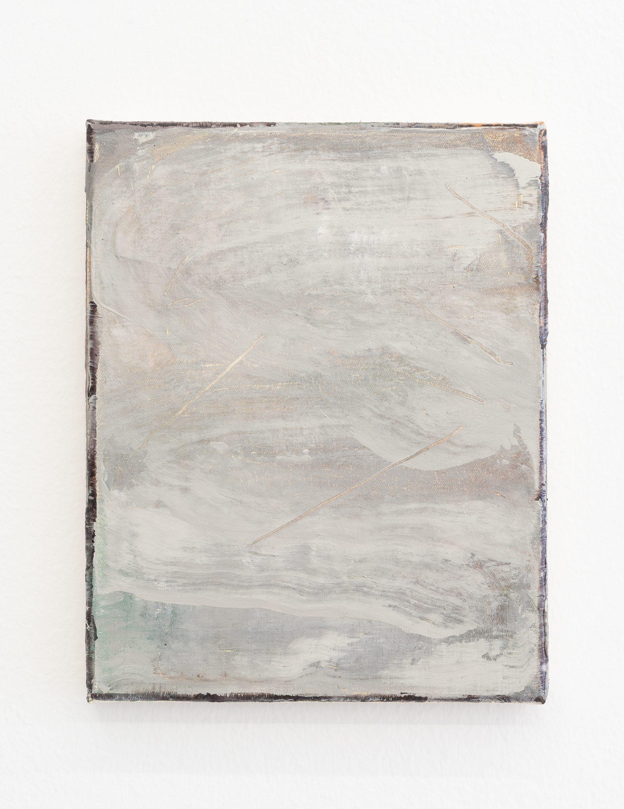 10. Nazzarena Poli Maramotti, Weiss, mixed media on canvas, 25x20cm, 2018
