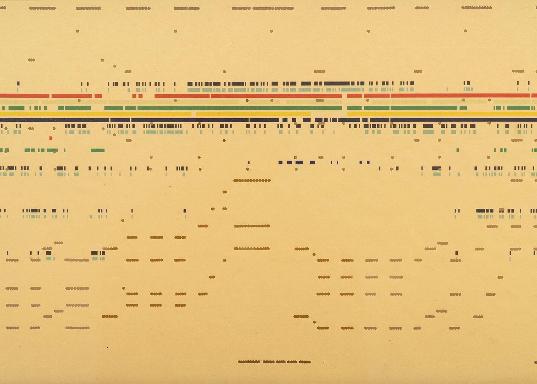 2. Silvia Hell, dettaglio. Stampa Digitale su Rullo per Autopiano di inizio 900.