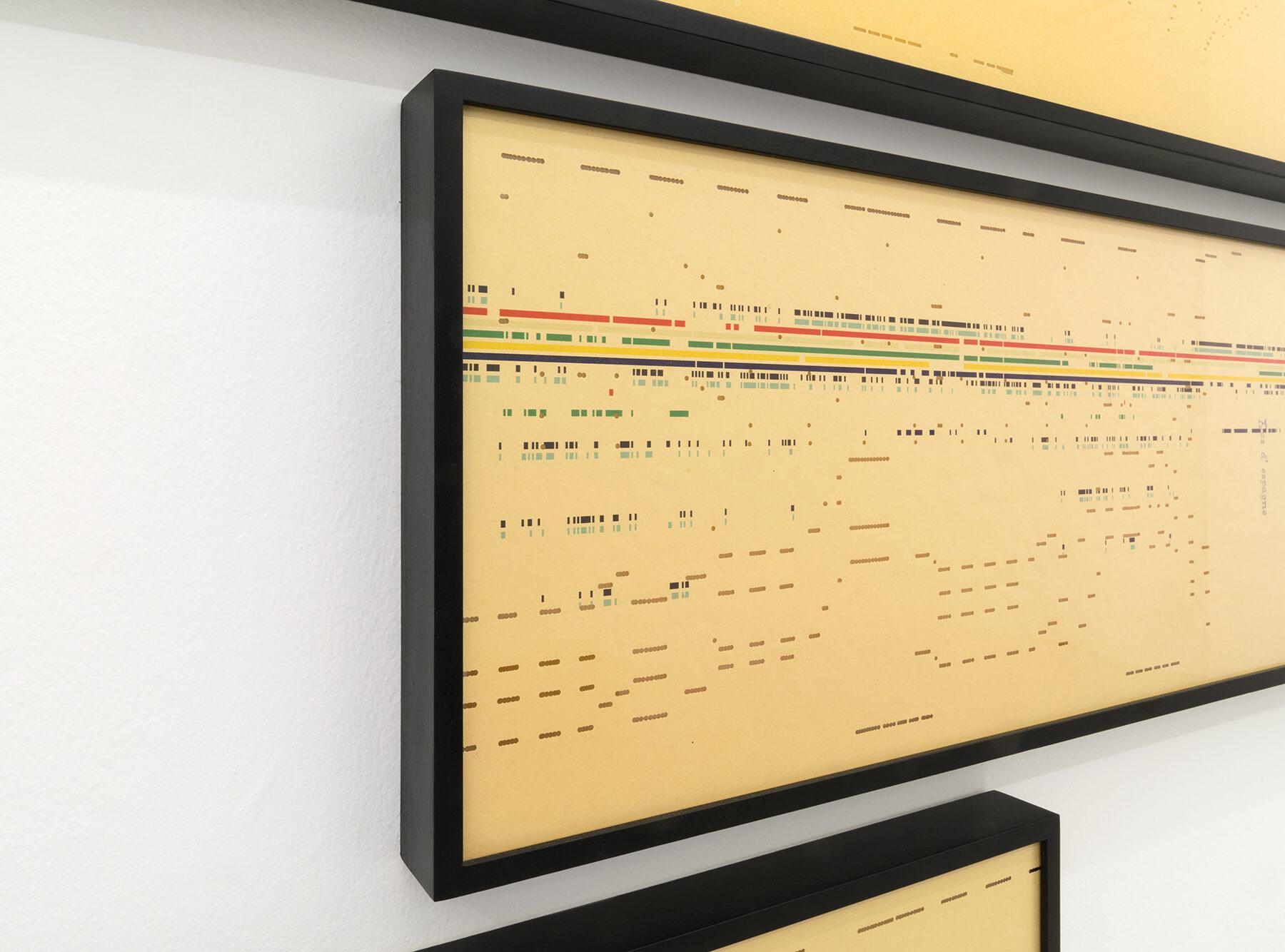 3. Detail Exhibition view Silvia Hell, Air, 2018