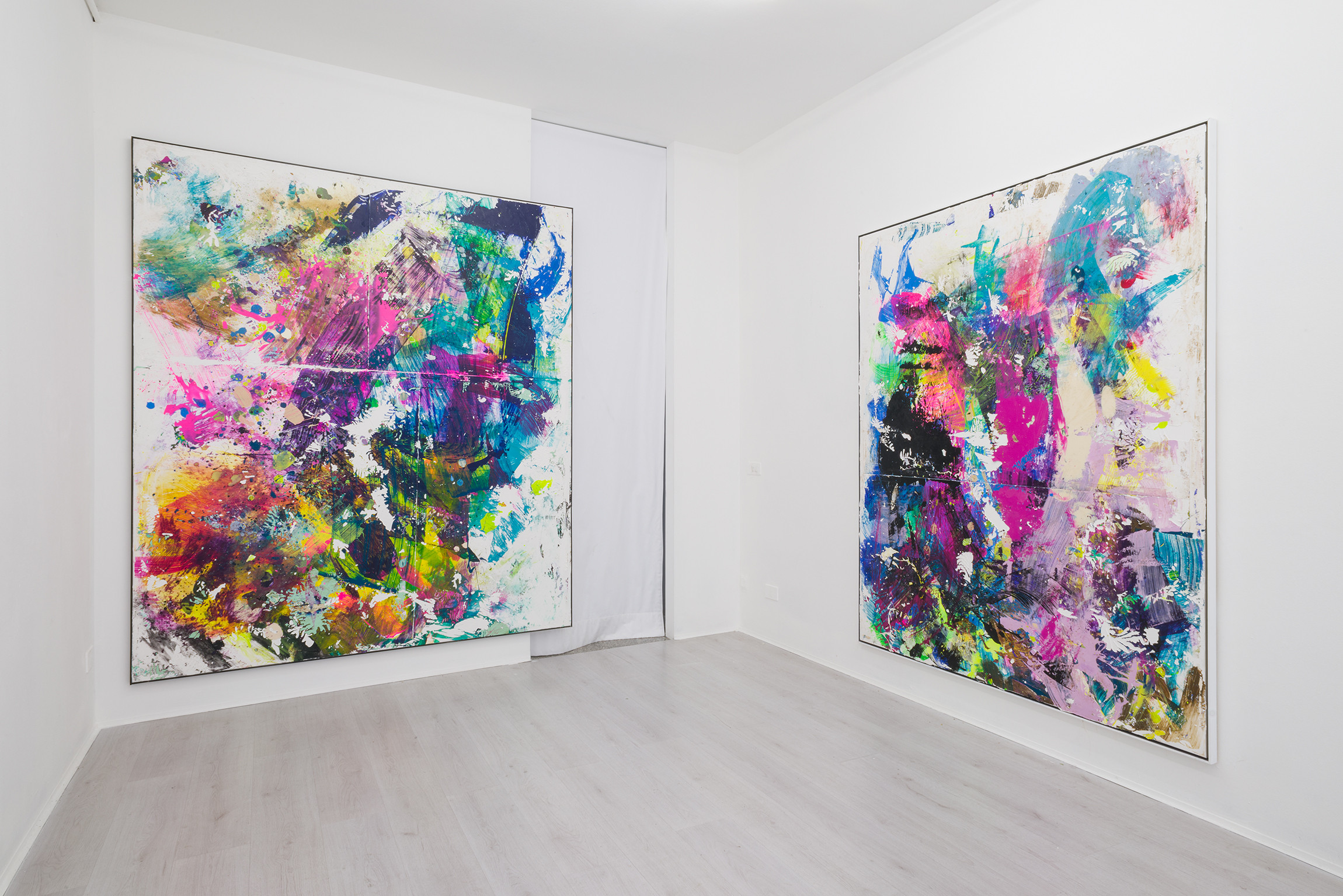 4. Firnt, Tiziano Martini exhibition view at A+B gallery