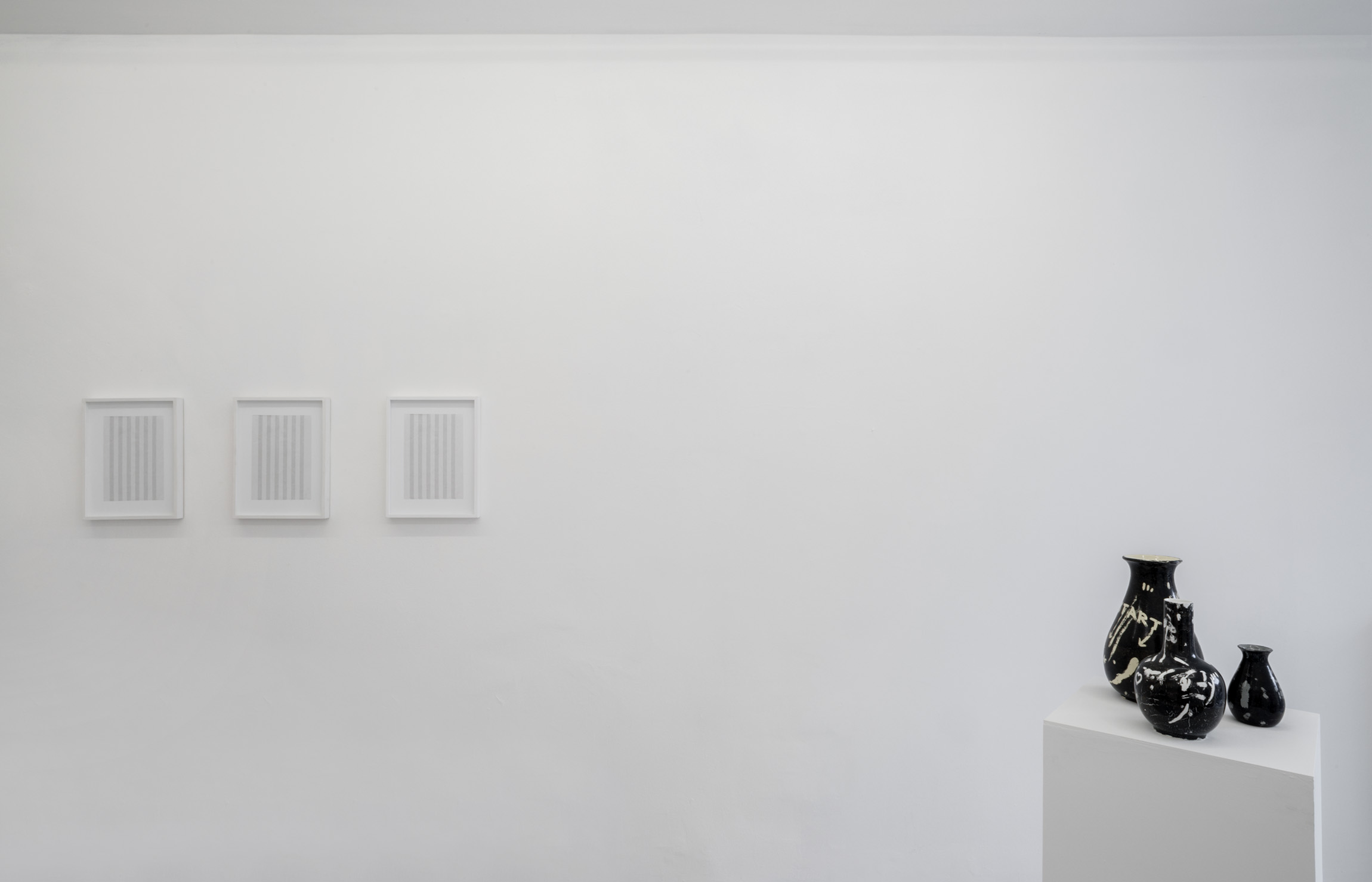 4. Gianluca Codeghini -Solo Noise- exhibition view at A+B gallery Brescia
