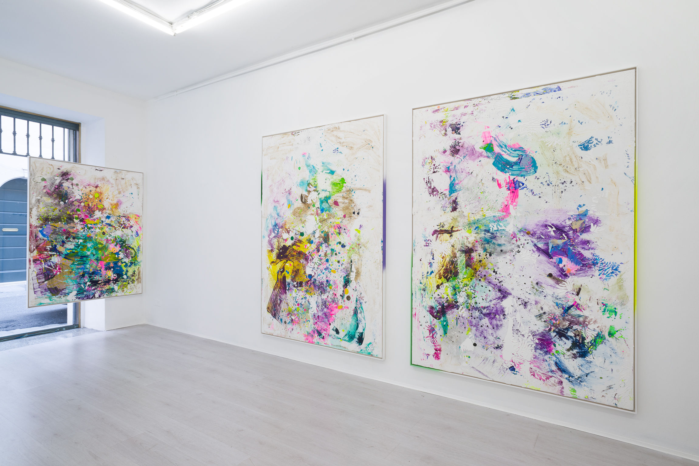 7. Firnt, Tiziano Martini exhibition view at A+B gallery