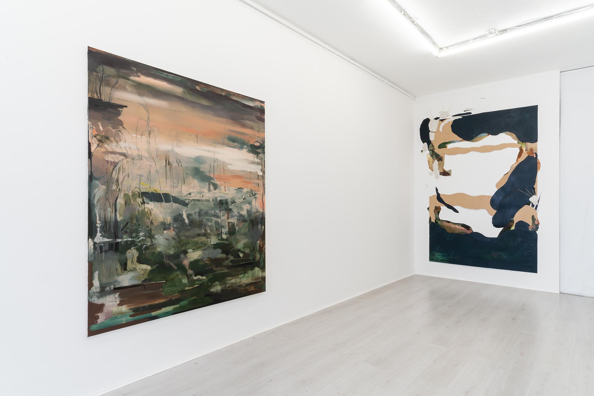 7. Unterwasser, exhibition view @ A+B gallery - Brecscia