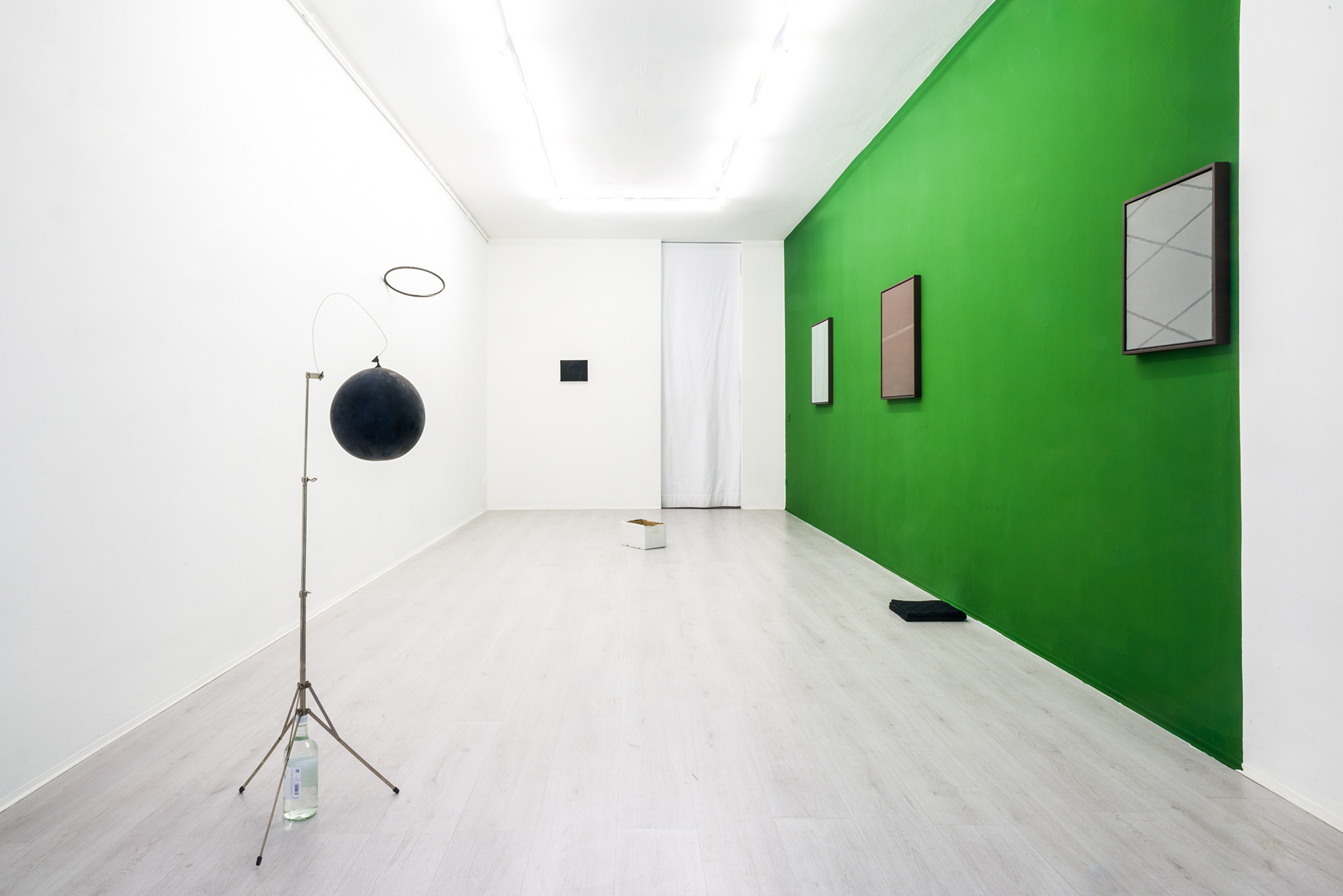 Michele Lombardelli - Luca Scarabelli, exhibition view at A+B gallery, 2017