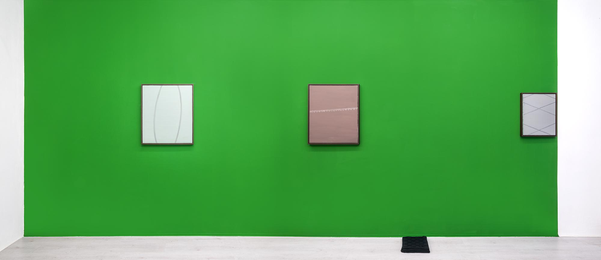 Michele Lombardelli, exhibition view at A+B gallery, 2017. photo alberto petrò