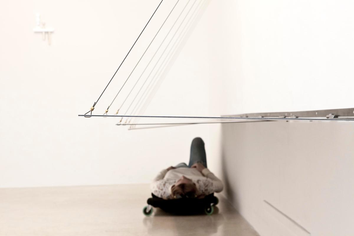Silvia Hell VRS vista parziale dell'installazione - AplusB Brescia 2014