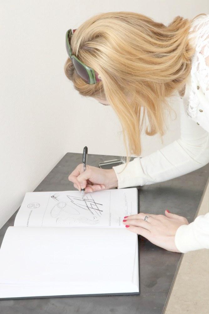 Silvia Hell VRS vista parziale dell'installazione - registro AplusB Brescia 2014