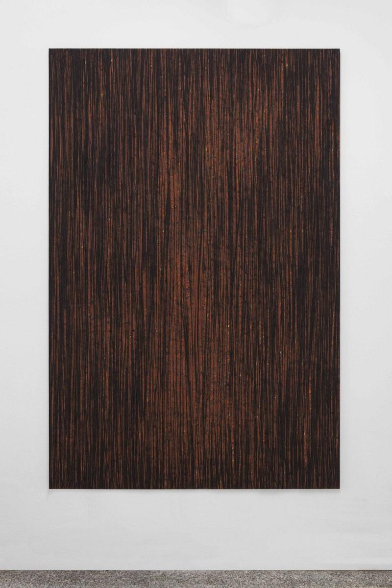 luca macauda - Senza titolo - 2015 - pastello morbido su tela - 195x125cm - courtesy A+B, Brescia - foto Davide Sala_800x1200