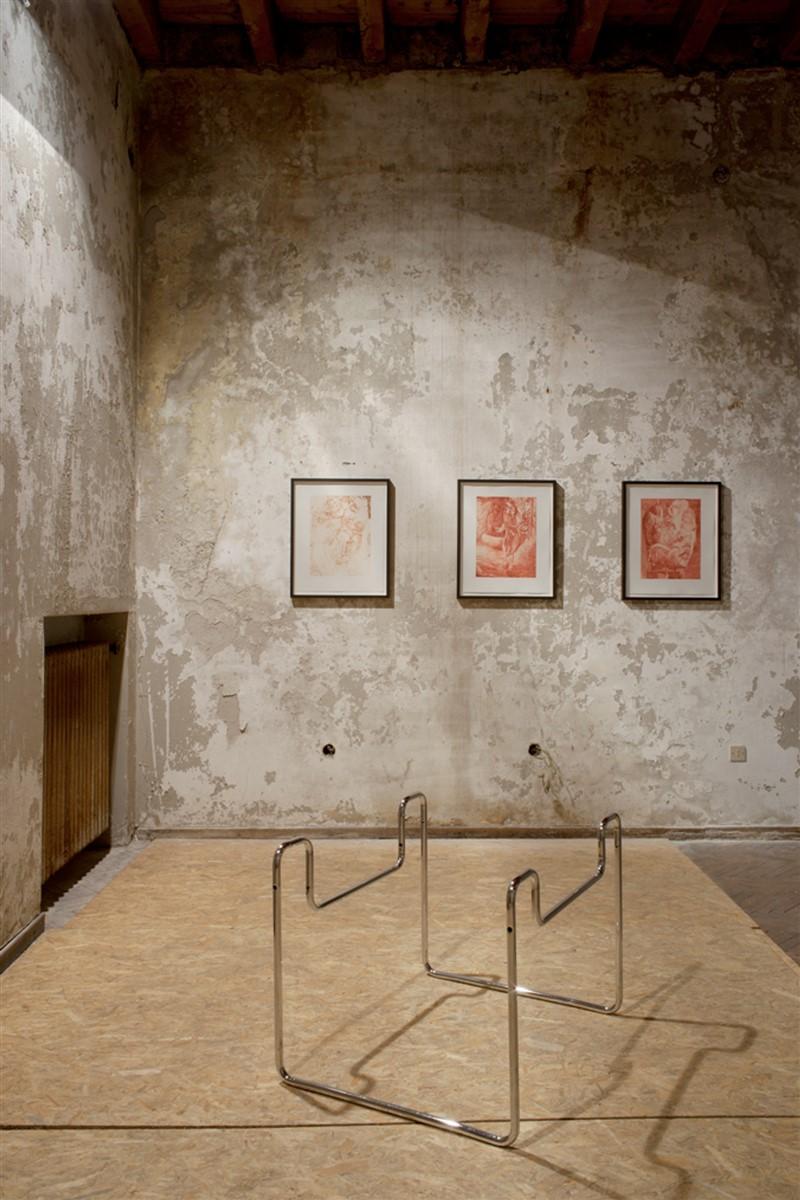 09. L'avventura - die mit der liebe spielen - exhibiton view - room 5 Tobias Hoffknecht - Dennis Scholl - photo philip seibel -