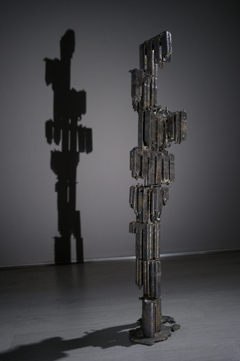 Marco La Rosa, Untitled (Apoteosi), 21x18x95cm, piombo, 2016