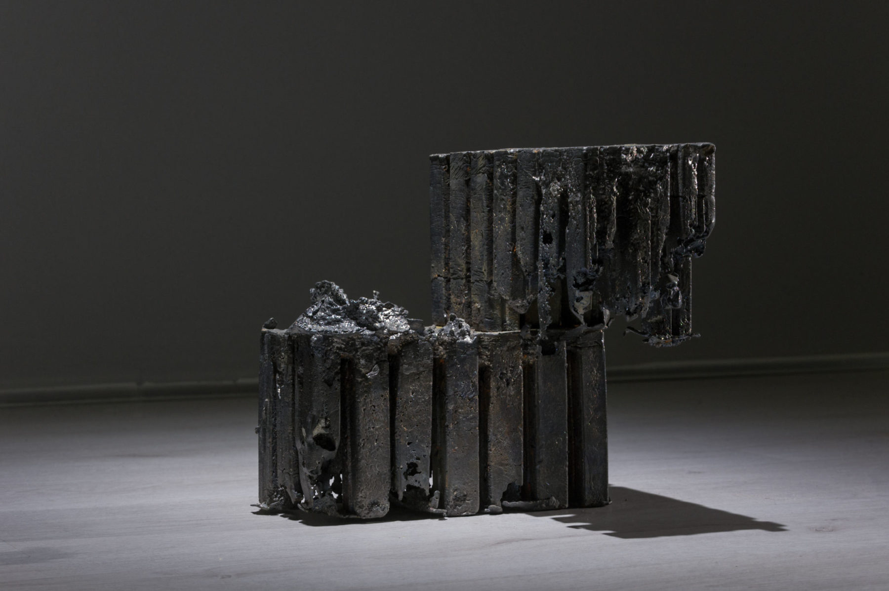 Marco La Rosa, Untitled (Apoteosi), 24x24x24cm, piombo, 2016