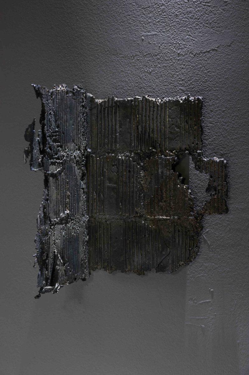 Marco La Rosa, Untitled (Apoteosi), 38x34x30cm, piombo, 2016