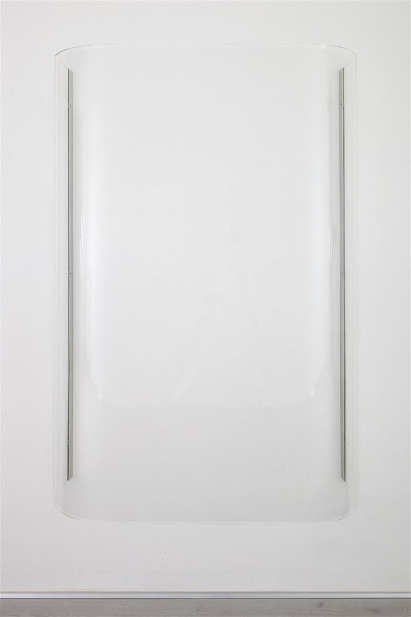 Stephanie Stein / Tobias Hoffknect, O-Ton, plexiglass, 170x125x45cm, 2015