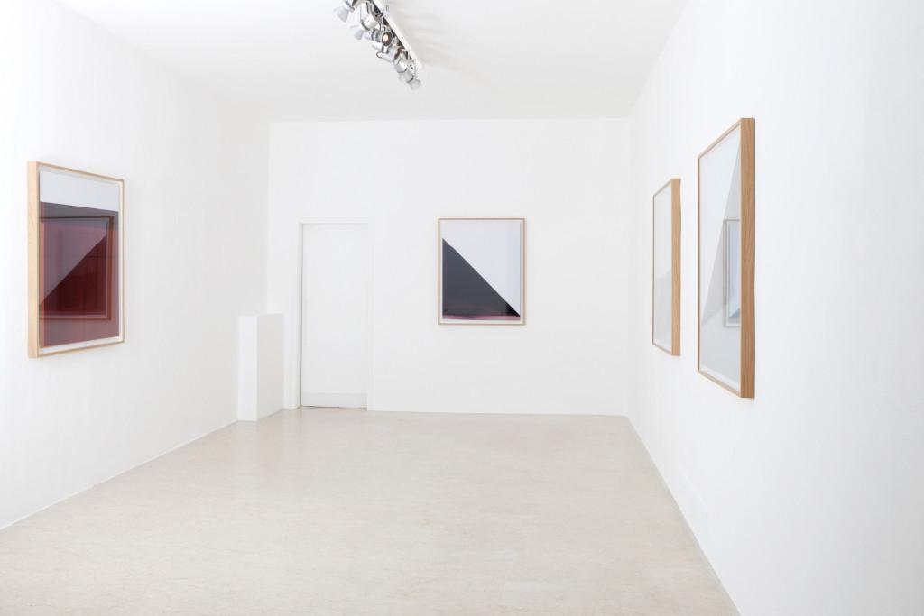 Paolo Meoni, Volumi, exhibition view at A+B gallery Brescia