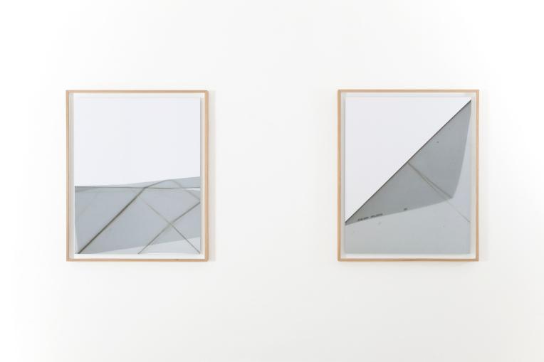 Paolo Meoni, Volumi, exhibition view at A+B gallery - Brescia