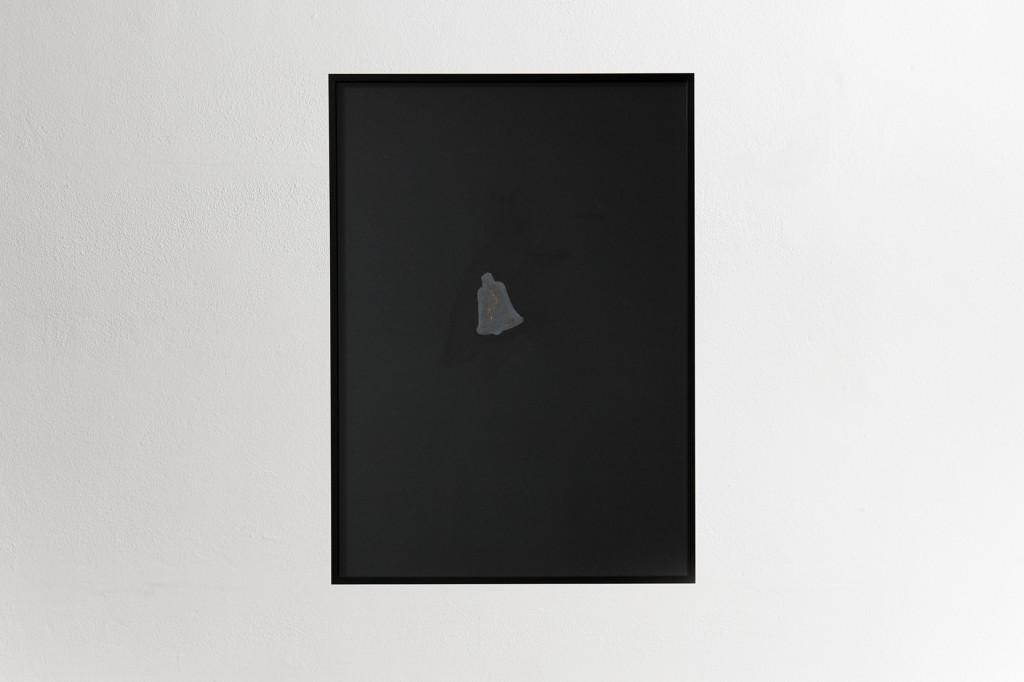 02particolare-graziano folata-ritratto-della-venere-di-ille-acrilico-grafite-inchiostro-burro-cacao-oro-su-cartoncino-70x50cm-2013