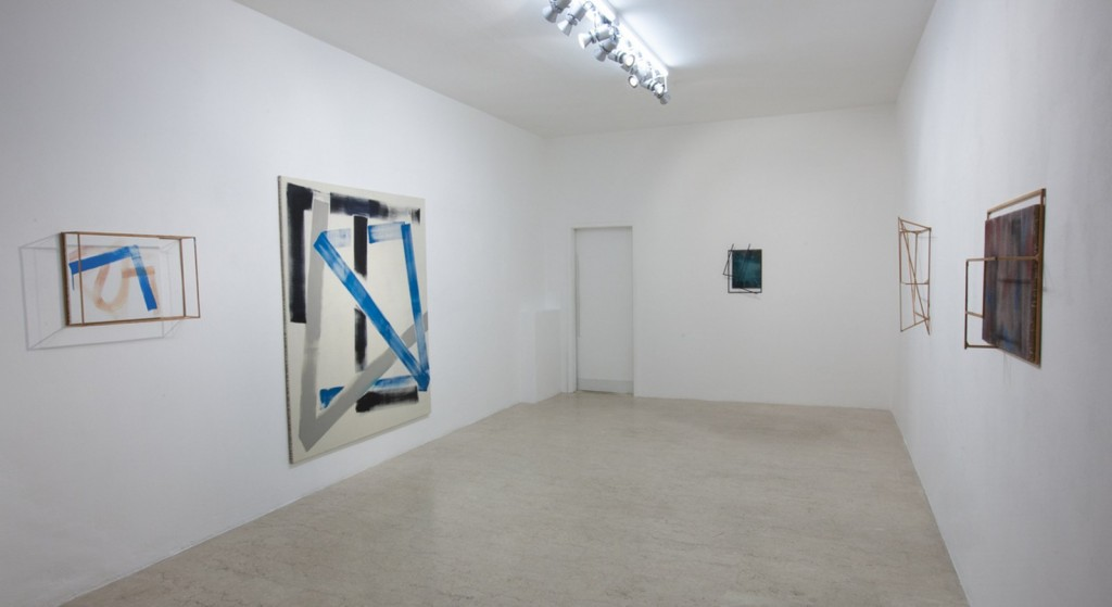 Max Frintrop, exhibition view #abstraction A+B gallery, Brescia it