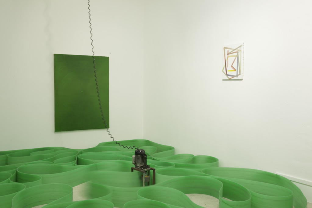 Zoro Feigl, Osamu Kobayashi, Max Frintrop, exhibition view, a+b gallery