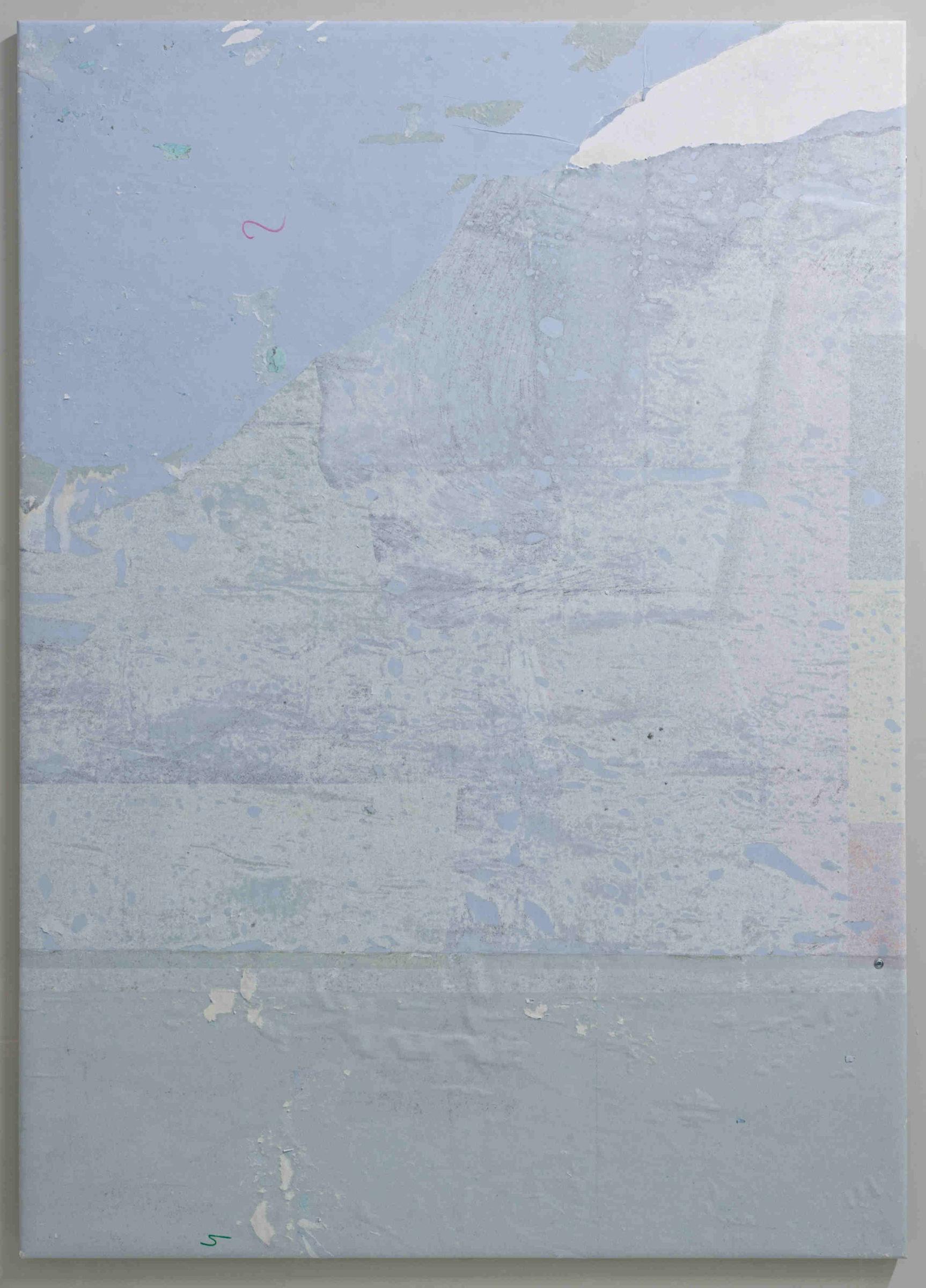0. Simon Laureyns, Untitled, paper, 140x100cm, 2016
