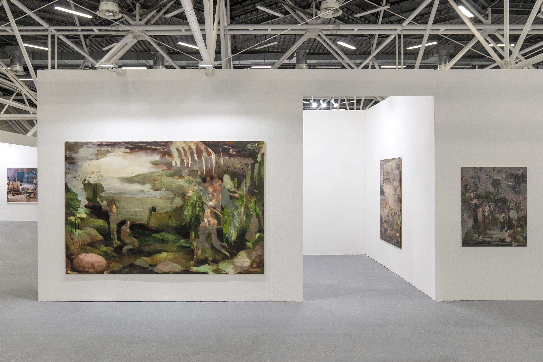 A+B stand con le opere di Nazzarena Poli Maramotti ad Artefiera Bologna. Foto © Masiar Pasquali