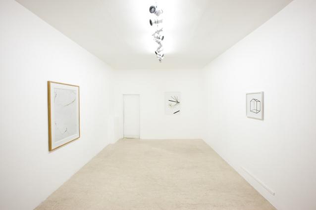 1. Annotazioni e mantate risposte, exhibition view, Emanuele Becheri, Massimo Uberti