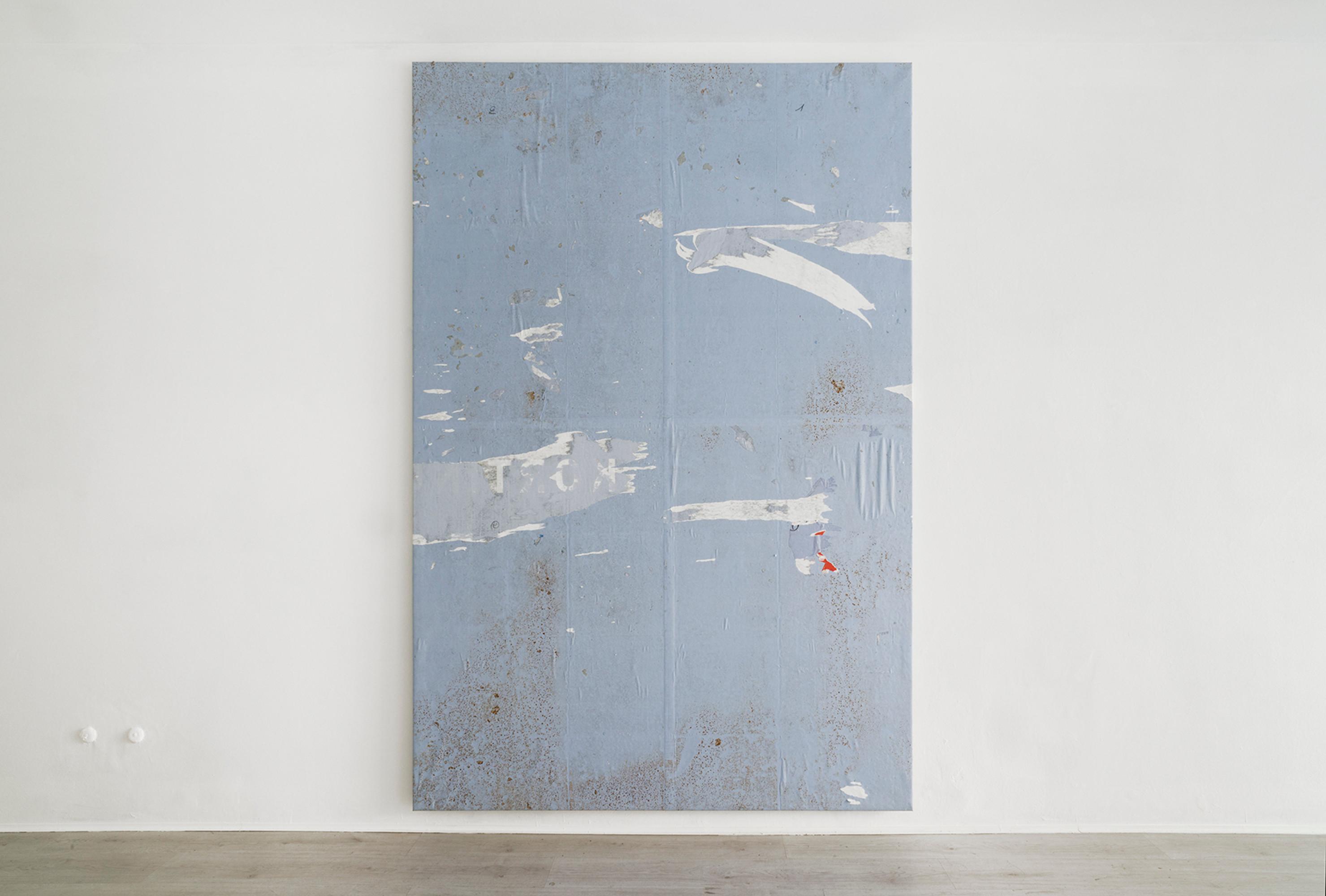 1. Simon Laureyns, Imperialist, 2016 Backward bollboard, 280x190cm - A+B gallery IT low